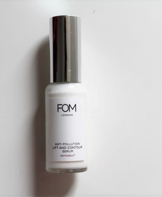 FOM London anti pollution lift and contour serum
