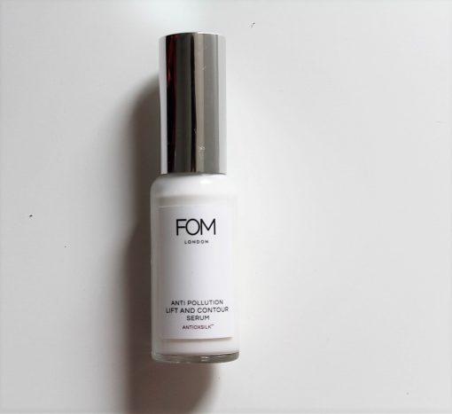 FOM London anti pollution lift and contour serum