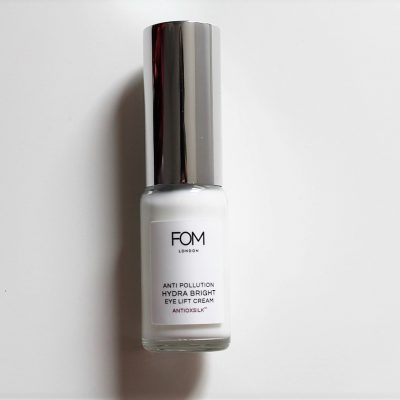 FOM London anti pollution hydra bright eye lift cream