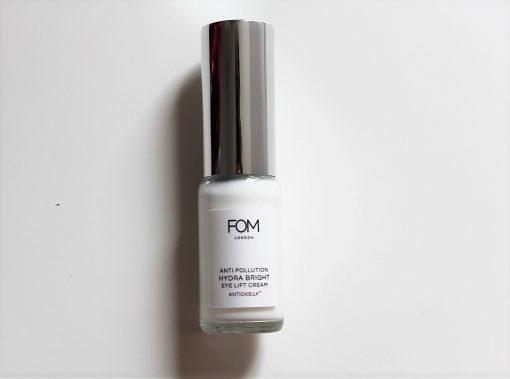 FOM London anti pollution hydra bright eye lift cream