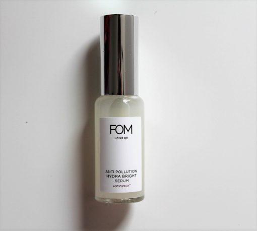 FOM London hydra bright serum