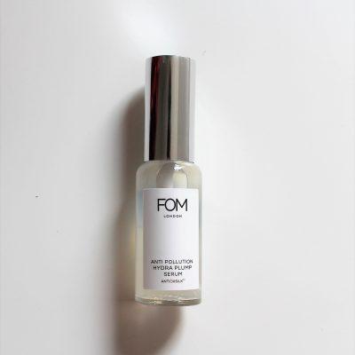 FOM London anti pollution hydra plump serum