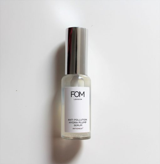 FOM London anti pollution hydra plump serum