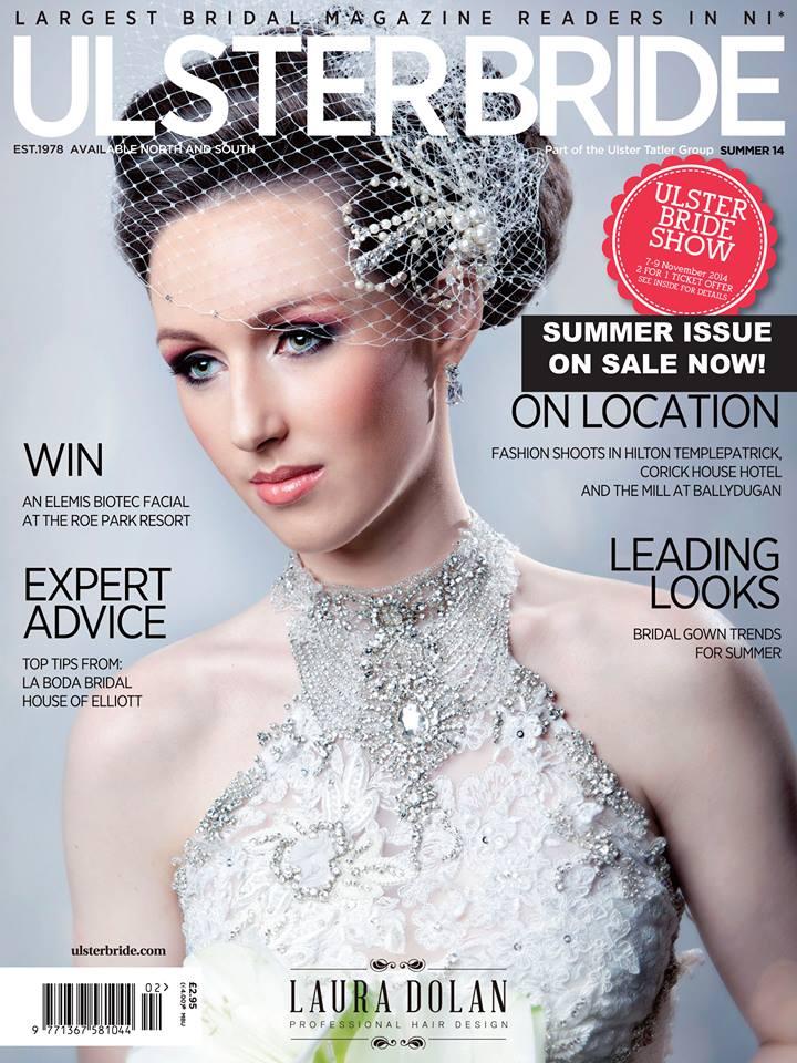 FOM Lonodn in Ulster Bride Magazine