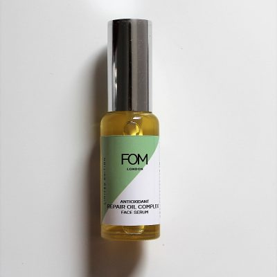 FOM London antioxidant oil complex for face