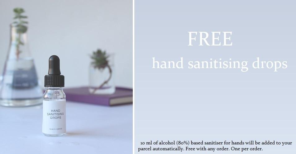 Free Hand Sanitiser FOM London