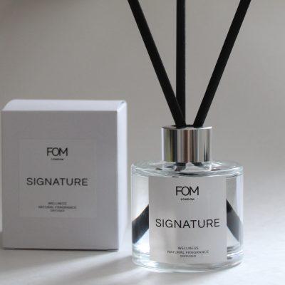 FOM London signature fragrance reed diffuser